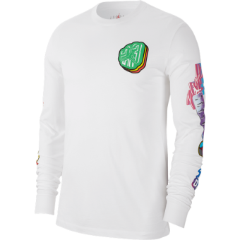 AIR JORDAN PHOTO REPEAT LONG-SLEEVE CREW TEE