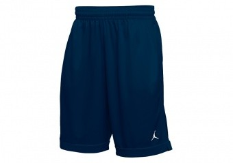 NIKE AIR JORDAN BASKETBALL PRACTICE SHORTS TEAM NAVY