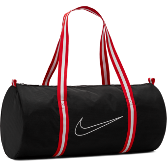 NIKE HERITAGE THROWBACK BASKETBALL DUFFEL BAG BLACK