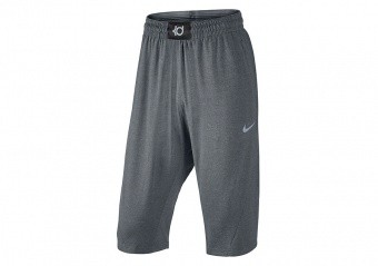 NIKE SPHERE-DRY KD SHORTS CARBON HEATHER