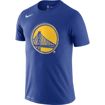 NIKE NBA GOLDEN STATE WARRIORS LOGO DRI-FIT TEE