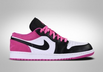 NIKE AIR JORDAN 1 RETRO LOW SE BLACK ACTIVE FUCHSIA