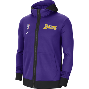 NIKE NBA LOS ANGELES LAKERS SHOWTIME THERMA FLEX HOODIE