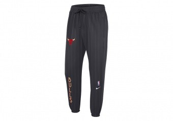 NIKE NBA CHICAGO BULLS SHOWTIME CITY EDITION THERMA FLEX PANTS ANTHRACITE