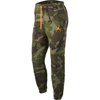 JORDAN JUMPMAN AIR CAMO FLEECE PANTS