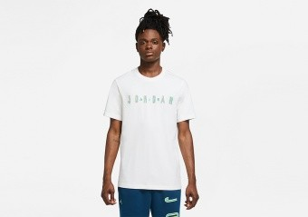 NIKE AIR JORDAN SPORT DNA CREW TEE WHITE