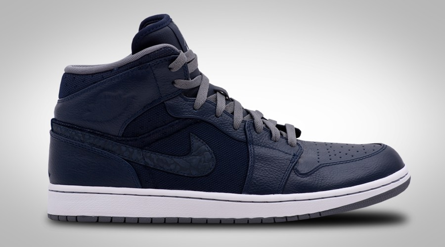 NIKE AIR JORDAN 1 PHAT OBSIDIAN COOL GREY