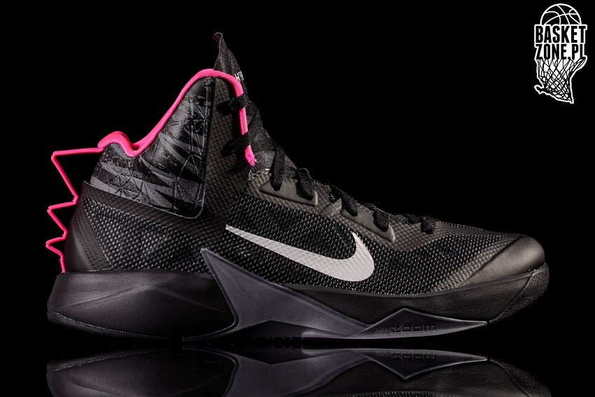 Nike Zoom Hyperfuse 2013 Black 615896 002, Color, Talla 42,5