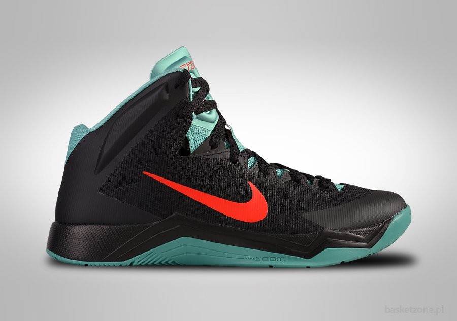 NIKE ZOOM HYPERQUICKNESS BLACK DIFFUSED JADE