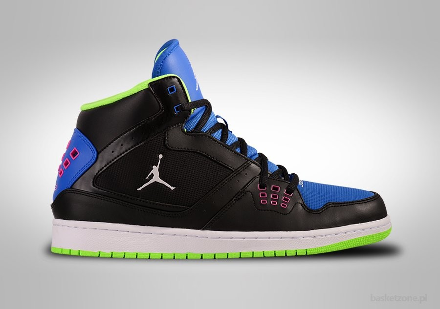 NIKE AIR JORDAN 1 FLIGHT ROYAL FLASH LIME BEL-AIR EDITION