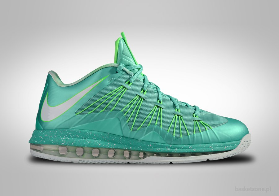 NIKE AIR MAX LEBRON X LOW EASTER MINT