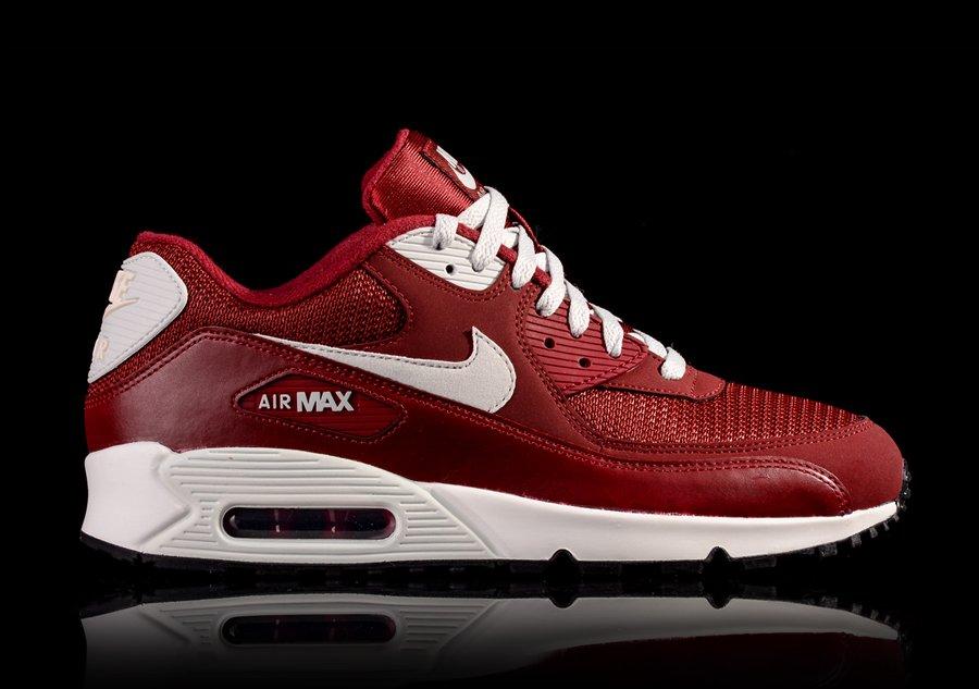 nike air max 90 essential red black