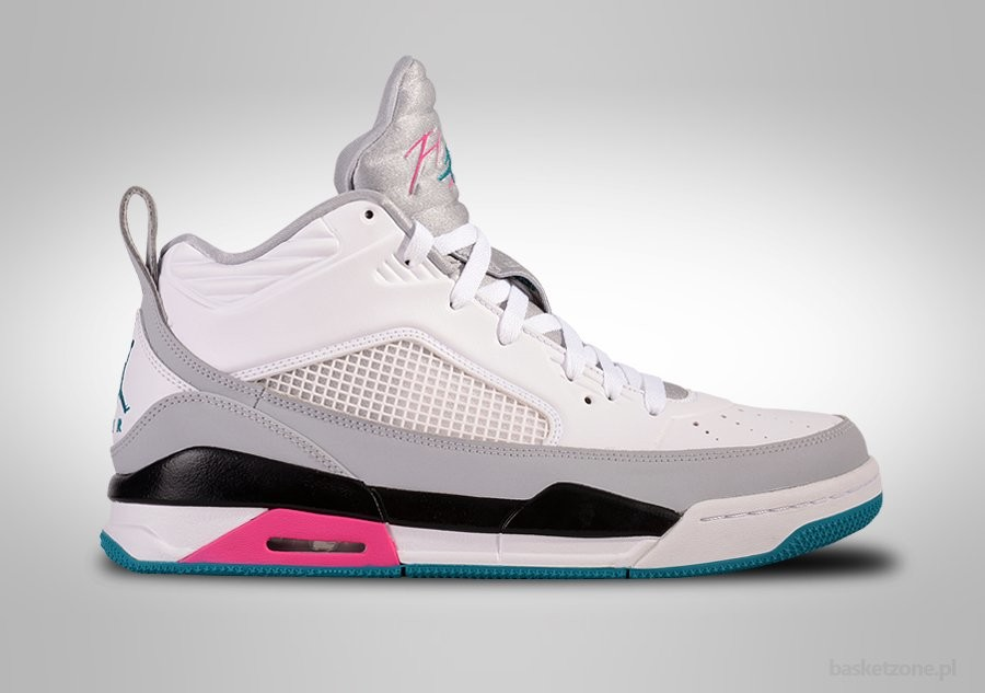 NIKE AIR JORDAN FLIGHT 9.5 WHITE TROPICAL TEAL