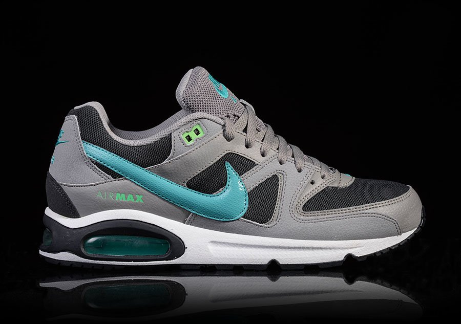 NIKE AIR MAX COMMAND MEDIUM GREY TURQUOISE