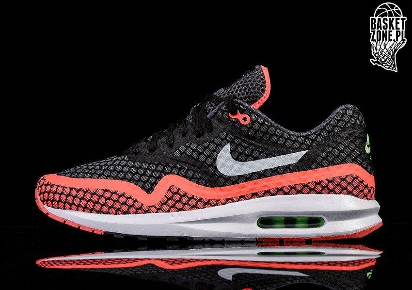 Nike Air Max Lunar1 BR Black Pure Platinum Hot Lava