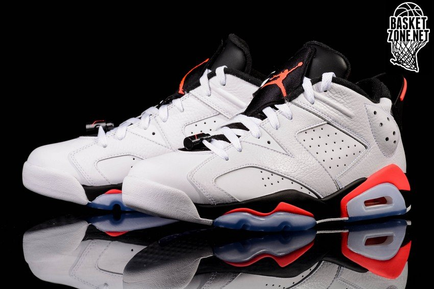 separation shoes 2bd0e f8172 ... ireland nike air jordan 6 retro low white infrared 6345f a10db